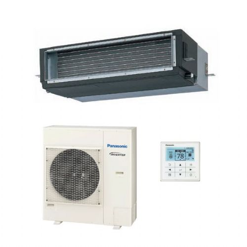 Panasonic Air Conditioning Elite Hide Away Ducted Heat Pump Inverter+ S-PN100N1E5A (10Kw / 36000Btu) A 240V~50Hz